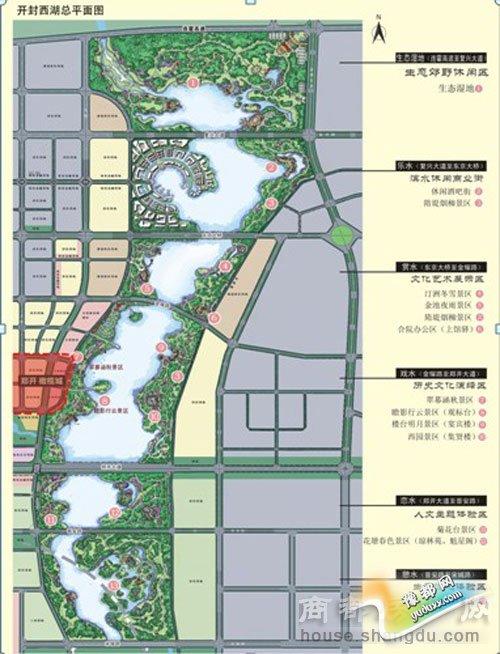 作为开封市城市总体规划和开封新区总体规划确定的