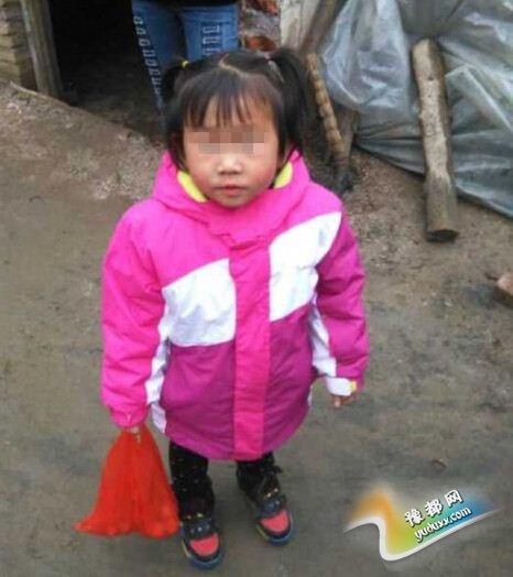 新安县磁涧镇4岁女童丢失近50天后回家 身穿新衣服