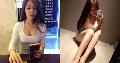台湾妹子换身塔罗牌占卜师 网友:好想卜一卦