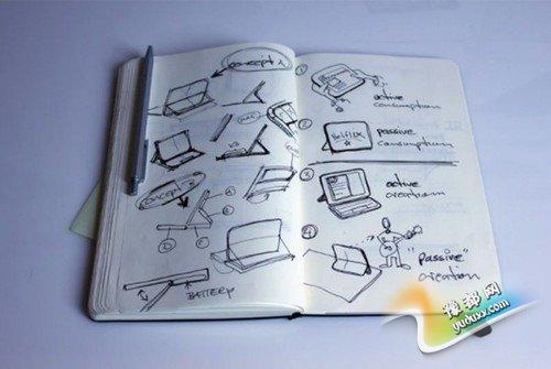 设计幕后曝光 微软展示Surface原型机