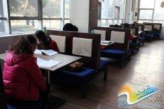 河南师范大学餐厅变成第二自习室