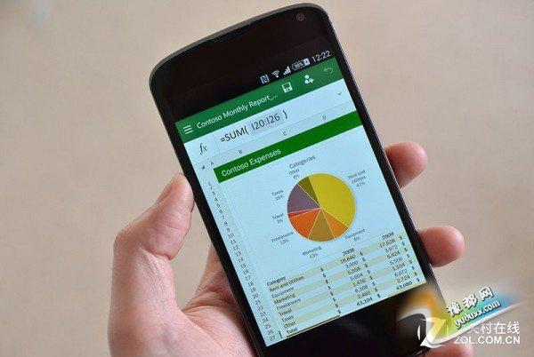 Android手机迎来微软Office预览版