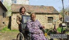 郸城县三妯娌带瘫痪婆婆去打工 十里八村人人夸