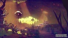 《无人之空》最新精美截图、原画欣赏 神秘星球令人流连