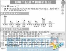 时隔10年郑州再调水价 8月上旬听证或将实施阶梯水价