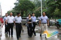 """市委常委、组织部部长王惠到郾城区调研""""两城同创""""工作"""