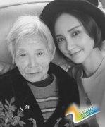 张歆艺生日不幸遭遇外婆去世 伤感怀念