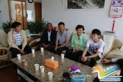 郑州市援藏教育考察组深入日喀则阿里地区家访