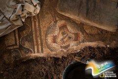 以色列古犹太会堂镶嵌画板之谜