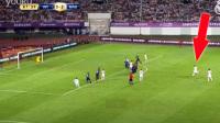 哈梅斯在对阵国米比赛中的精彩任意球破门