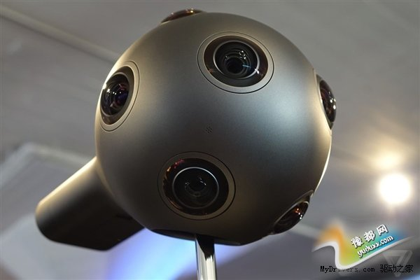 """诺基亚发布OZO 360度全景摄像机:多达8只""""眼"""""""