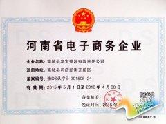 """商城县五家企业获""""河南省电子商务企业""""备案认证"""