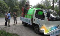 区农林水利局:对飞防空挡林区进一步加强病虫害防控