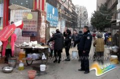 湛河区城管执法局开展市容整治百日攻坚活动