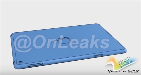 iPad mini 4外观大曝光!比iPhone 6更薄