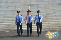 新野法院举行升国旗 法官宣誓活动