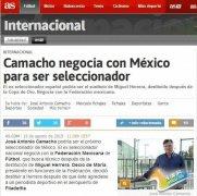 曝卡马乔与墨西哥谈判 若执教或世预赛反戈国足