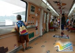 广州地铁开行米菲兔专列