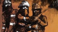 """手绘讲述:天津爆炸中""""逆行者""""的22个小时"""