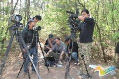 在董寨自然保护区取材的纪录片《放飞朱�q》将登陆央视