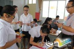 义马市2015年公开招聘教师面试工作顺利结束