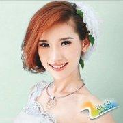 清新典雅新娘发型 散发迷人魅力的新娘