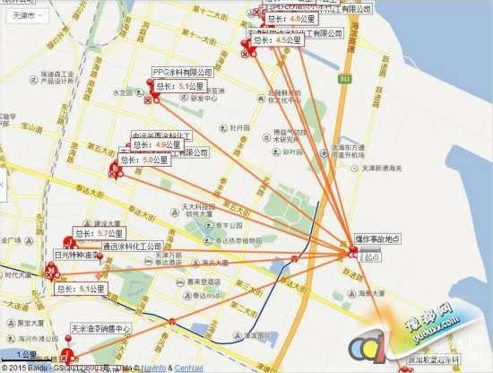 大批涂料企业受天津爆炸事件波及