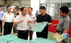 聂晓光对我县畜禽养殖设备产业发展情况进行调研