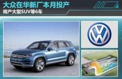 上海大众产能大幅提升 将产SUV等新车型