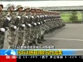三军仪仗队阅兵训练
