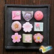 赏心悦目 樱花做成的精致唯美甜品