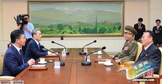 韩朝日前在板门店举行高级别对话,就目前半岛局势等事宜进行磋商。