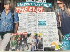 贝克汉姆要离婚?外媒只爆料他爹妈要离婚