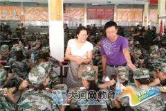 郑州市第六十五中新生第一课――军训