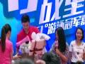 孙杨曾把刘翔当偶像 女粉丝一语让他瞬间洒泪(图)