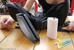 女创客发明3D高跟鞋 内含无线网测试工具