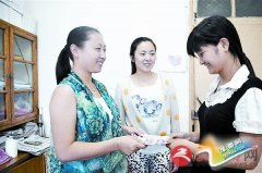 蓝天舞蹈学校资助马磊3000元钱