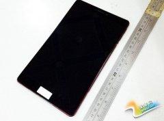 平板也玩金属机身 谷歌Nexus 8真机曝光