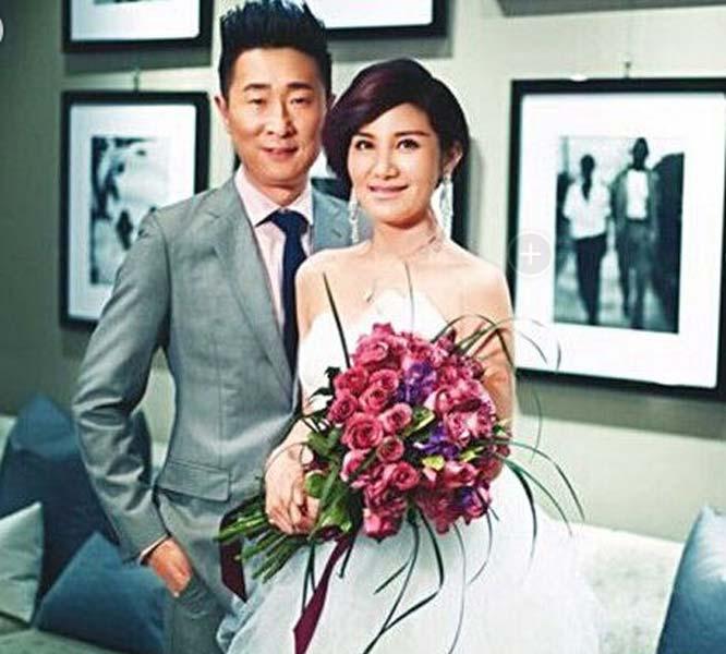 林永健和妻子。