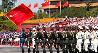 组图回顾抗战胜利70周年阅兵现场
