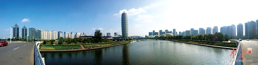 郑东新区全景