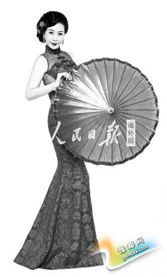 借服饰认识中国海外学子以旗袍演绎东方美