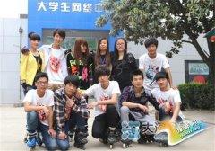 守护与责任:记河南新华电脑学院轮滑社站长刘亚光