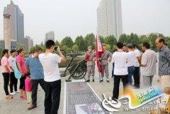 卢氏民间艺人李文增举办红色展览纪念抗战胜利70周年