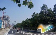 长青路改造工程南段通车