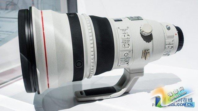 真正黑科技!佳能展示600mm f/4 DO镜头