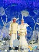 印小天与蒙古娇妻婚礼现场曝光 似冰雪世界