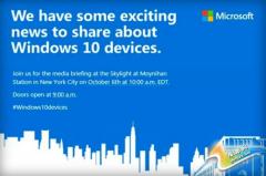 微软10月6日发布会预计推Surface Pro 4