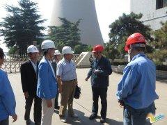 国家能源局调研组莅临大唐安阳发电厂