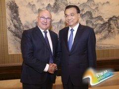 李克强会见法国财长:愿同法方开创中法合作新局面